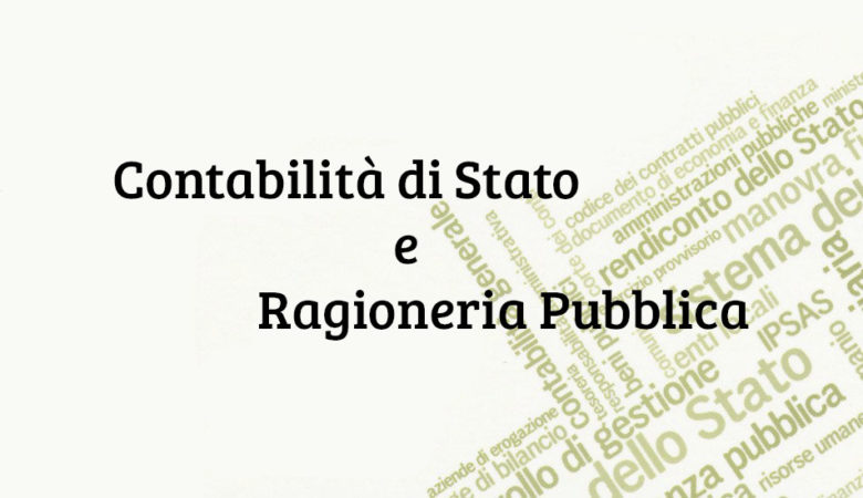 Contabilità di Stato e Ragioneria Pubblica
